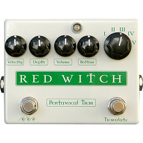 Red Witch Pentavocal Tremolo Pedal thumbnail