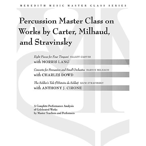 Meredith Music Percussion Masterclass On Works By Carter, Milhaud And Stravinsky thumbnail