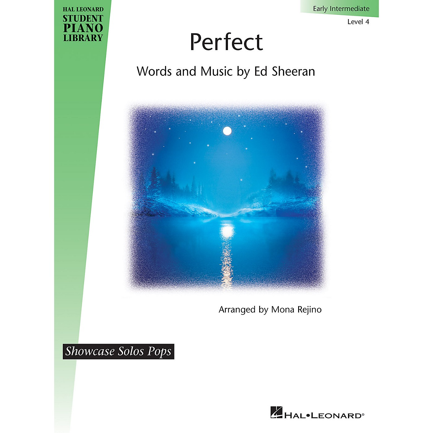 Hal Leonard Perfect - Level 4 Showcase Solos Pops - Early Intermediate Level by Ed Sheeran and arranged by Mona Rejino thumbnail