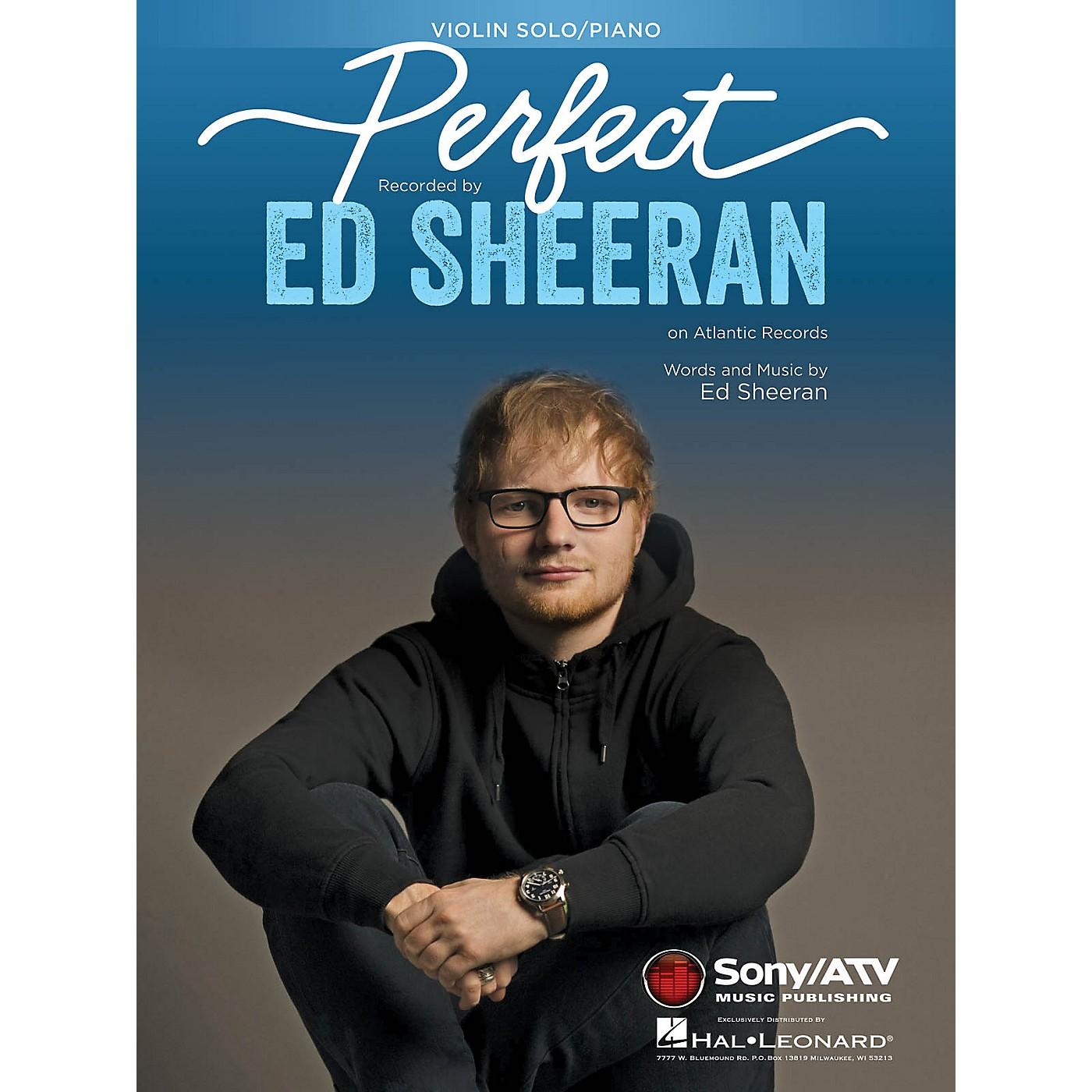 Hal Leonard Perfect Instrumental Solo for Violin Performed by Ed Sheeran thumbnail