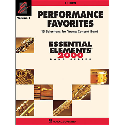 Hal Leonard Performance Favorites Volume 1 F Horn-thumbnail