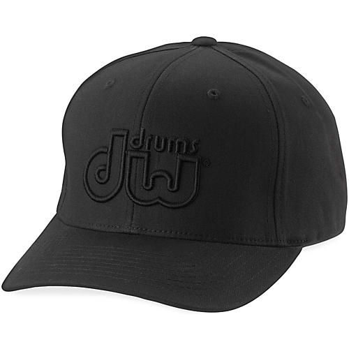 DW Performance Hat Black on Black Large/Xlarge thumbnail