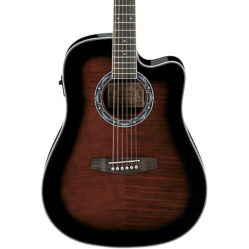 Ibanez Performance PF28ECE Dreadnought Cutaway Acoustic-Electric Guitar thumbnail
