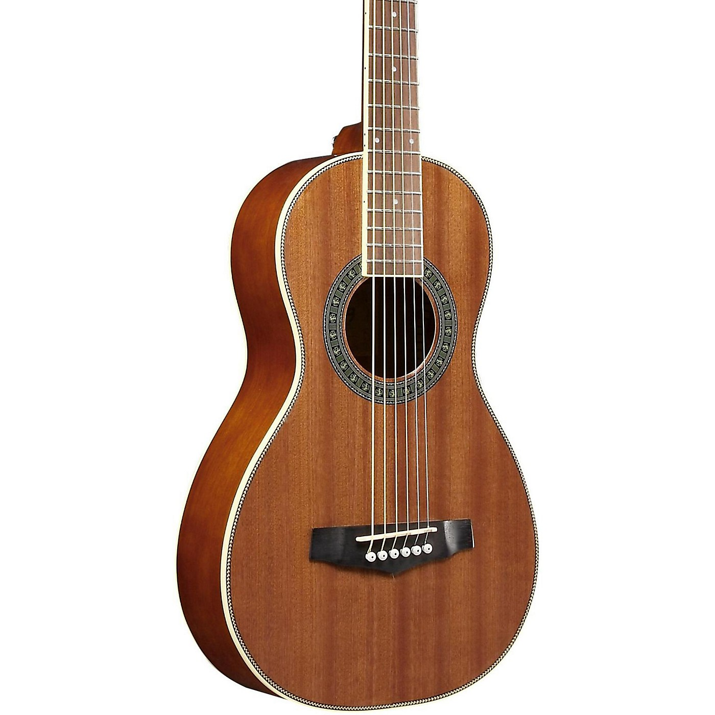 Ibanez Performance PN1MHOPN Mahogany Parlor Acoustic Guitar thumbnail