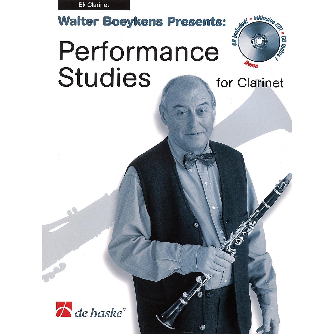 De Haske Music Performance Studies for Clarinet (Book/CD Pack) De Haske Solo Work CD Series Written by Walter Boeykens thumbnail