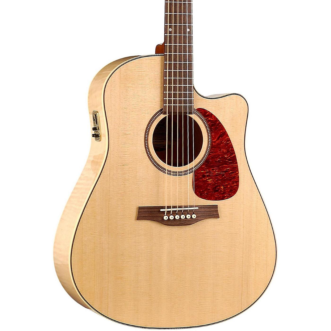 Seagull Performer Cutaway Flame Maple High Gloss QI Acoustic-Electric Guitar thumbnail