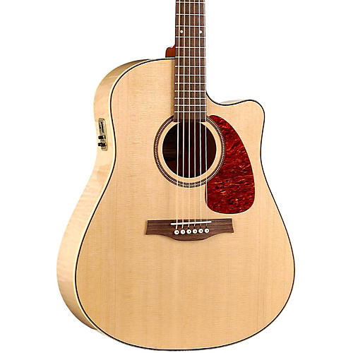 Seagull Performer Cutaway Flame Maple High Gloss QI Acoustic-Electric Guitar thumbnail