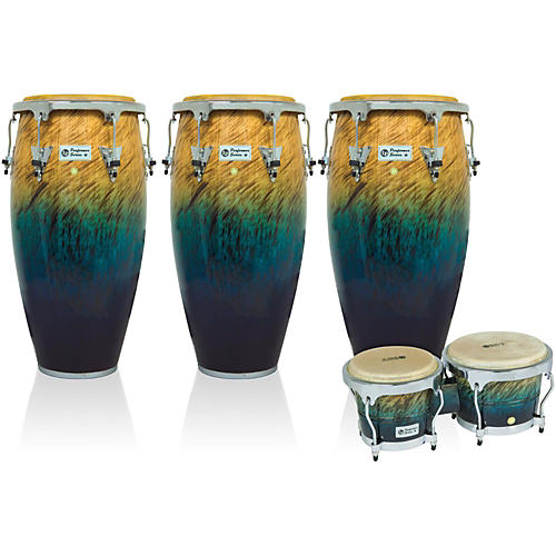 LP Performer Series 3-Piece Conga and Bongo Set with Chrome Hardware thumbnail