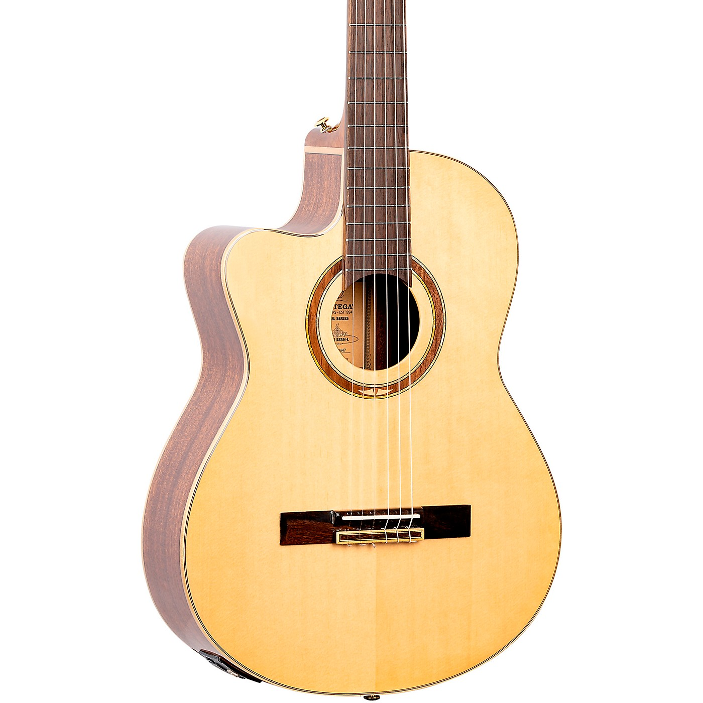 Ortega Performer Series RCE138SN-L Acoustic Electric Nylon Guitar thumbnail