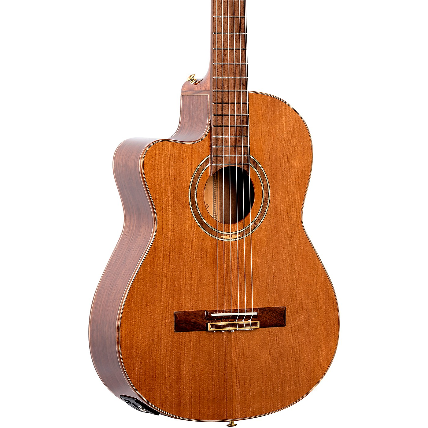 Ortega Performer Series RCE159MN-L Acoustic Electric Left-Handed Classical Guitar thumbnail