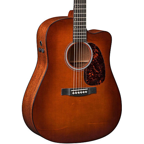 Martin Performing Artist Series DCPA4 Shaded Top Cutaway Dreadnought Acoustic-Electric Guitar thumbnail
