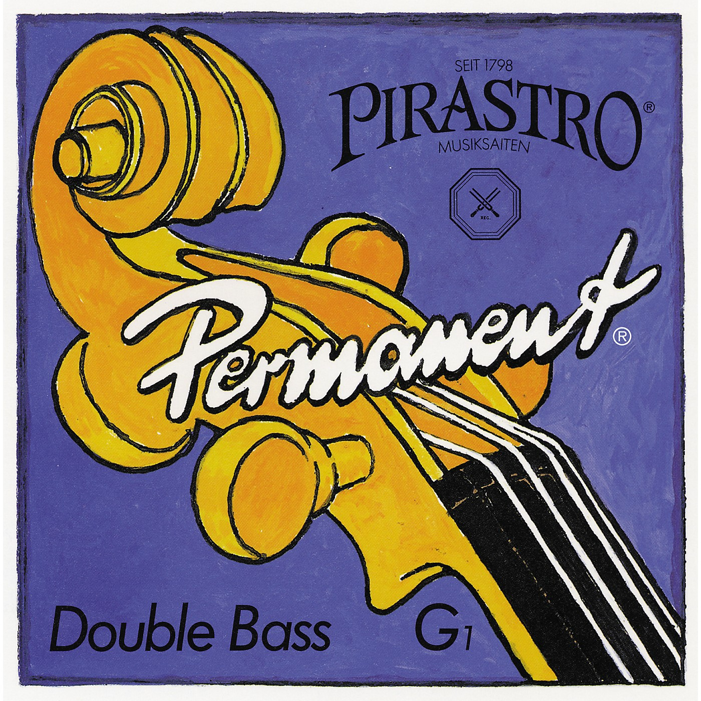 Pirastro Permanent Series Double Bass String Set thumbnail