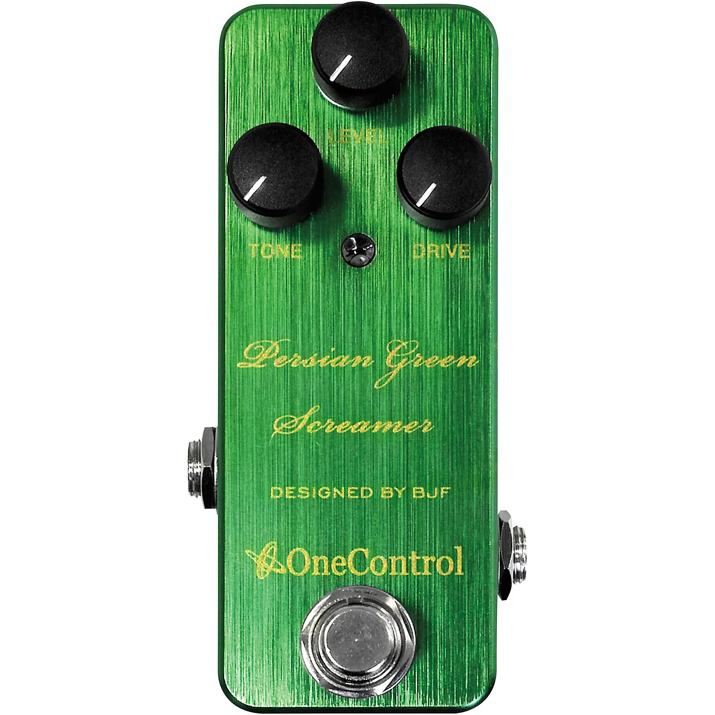 One Control Persian Green Screamer Overdrive Effects Pedal thumbnail