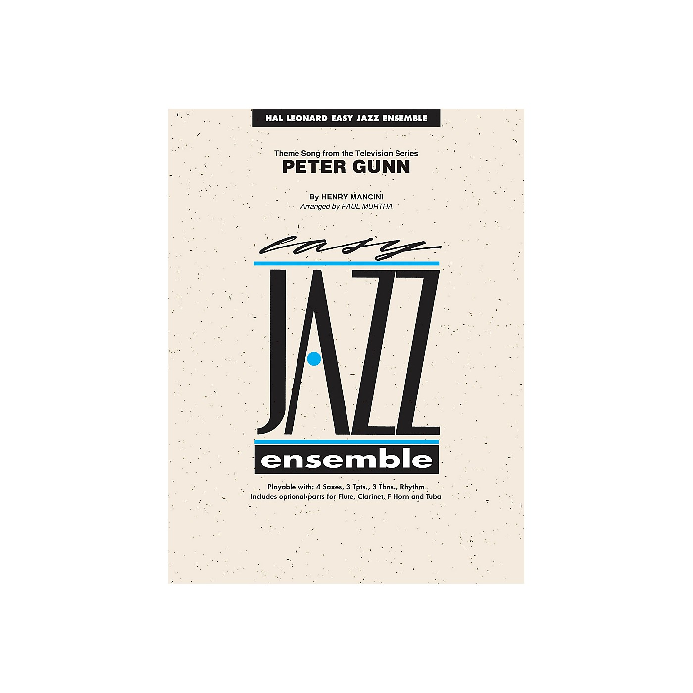 Hal Leonard Peter Gunn - Easy Jazz Ensemble Series Level 2 thumbnail