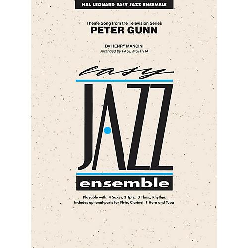 Hal Leonard Peter Gunn - Easy Jazz Ensemble Series Level 2-thumbnail