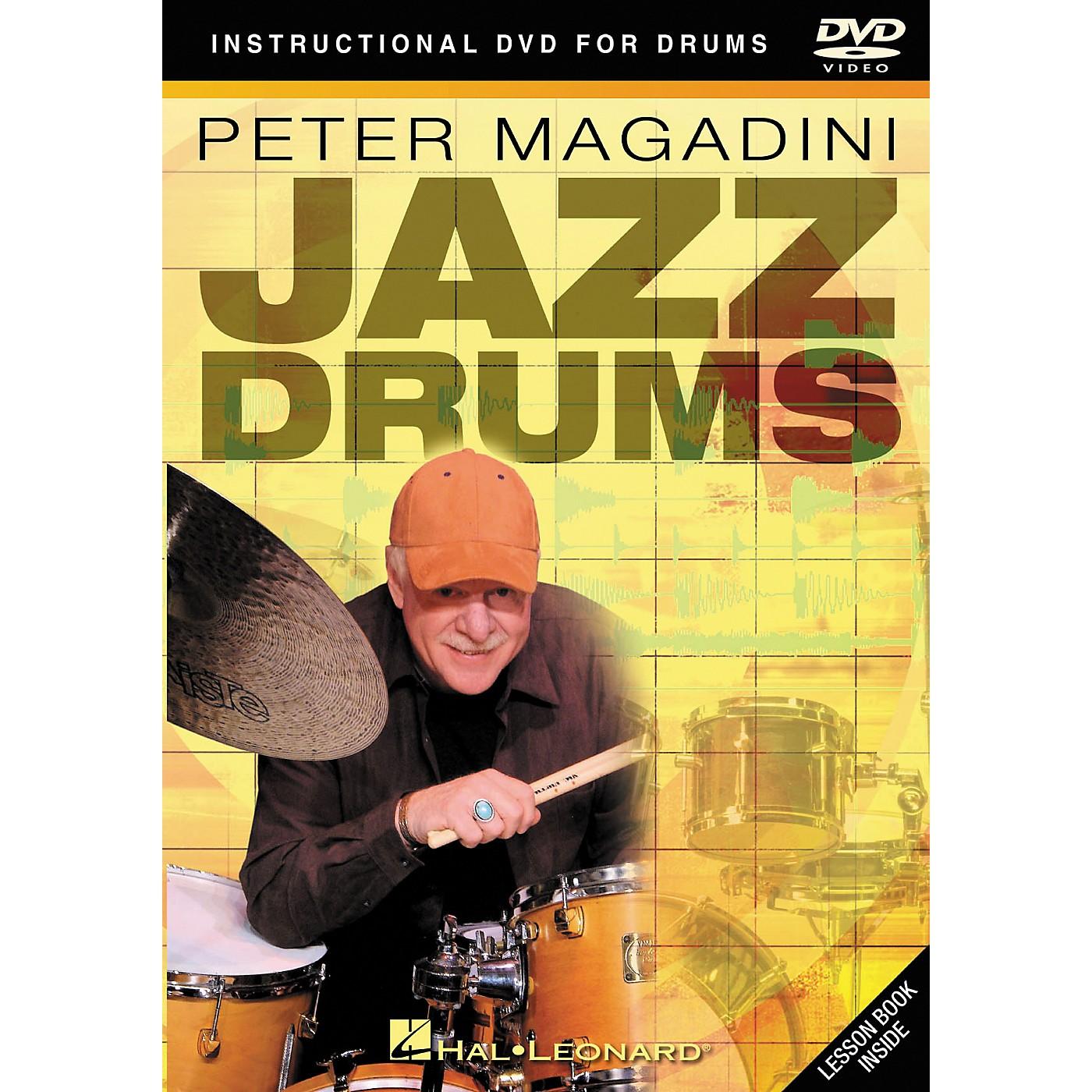 Hal Leonard Peter Magadini - Jazz Drums (DVD) thumbnail
