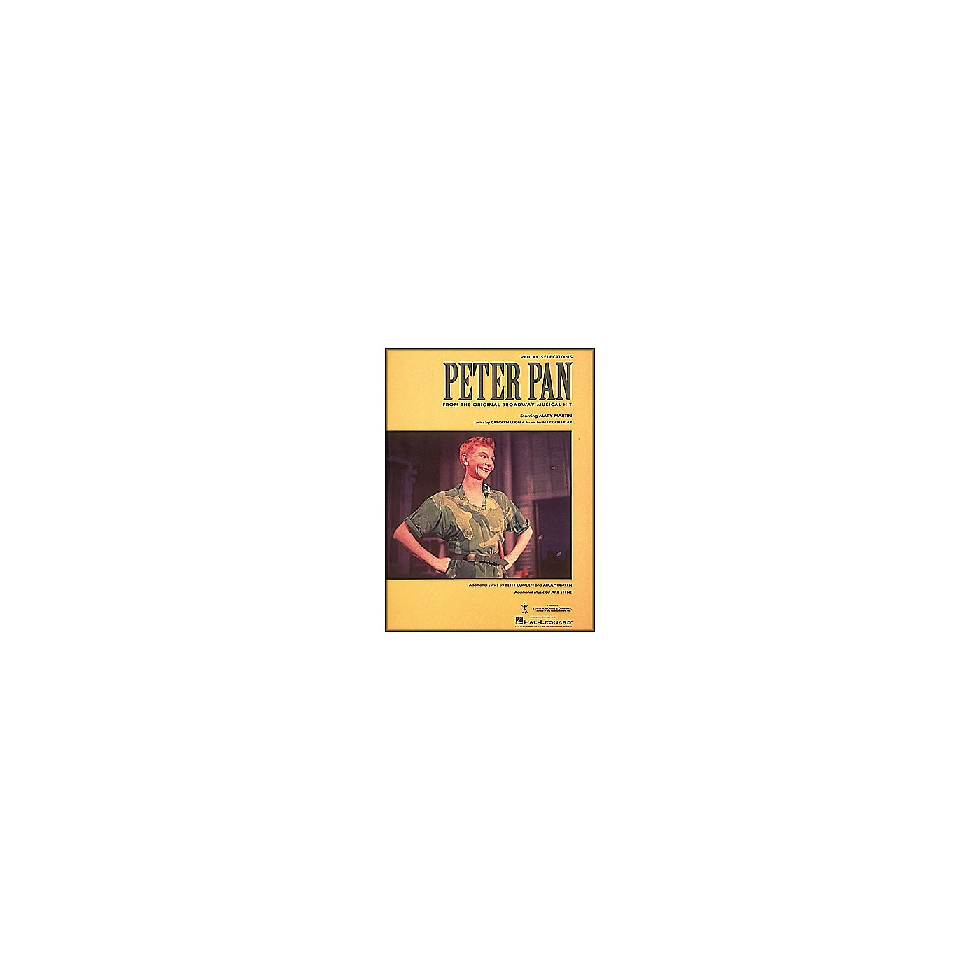 Hal Leonard Peter Pan Vocal Selections From The Original Broadway Musical Hit arranged for piano, vocal, and guitar (P/V/G) thumbnail