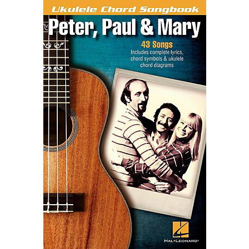 Hal Leonard Peter, Paul & Mary  Ukulele Chord Songbook thumbnail
