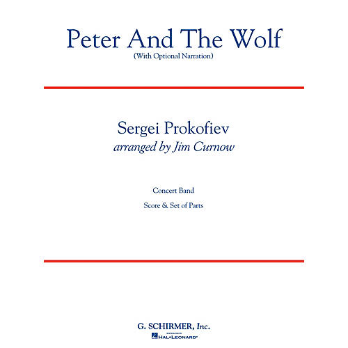 G. Schirmer Peter and the Wolf Concert Band Level 3 Composed by Sergei Prokofiev Arranged by James Curnow thumbnail