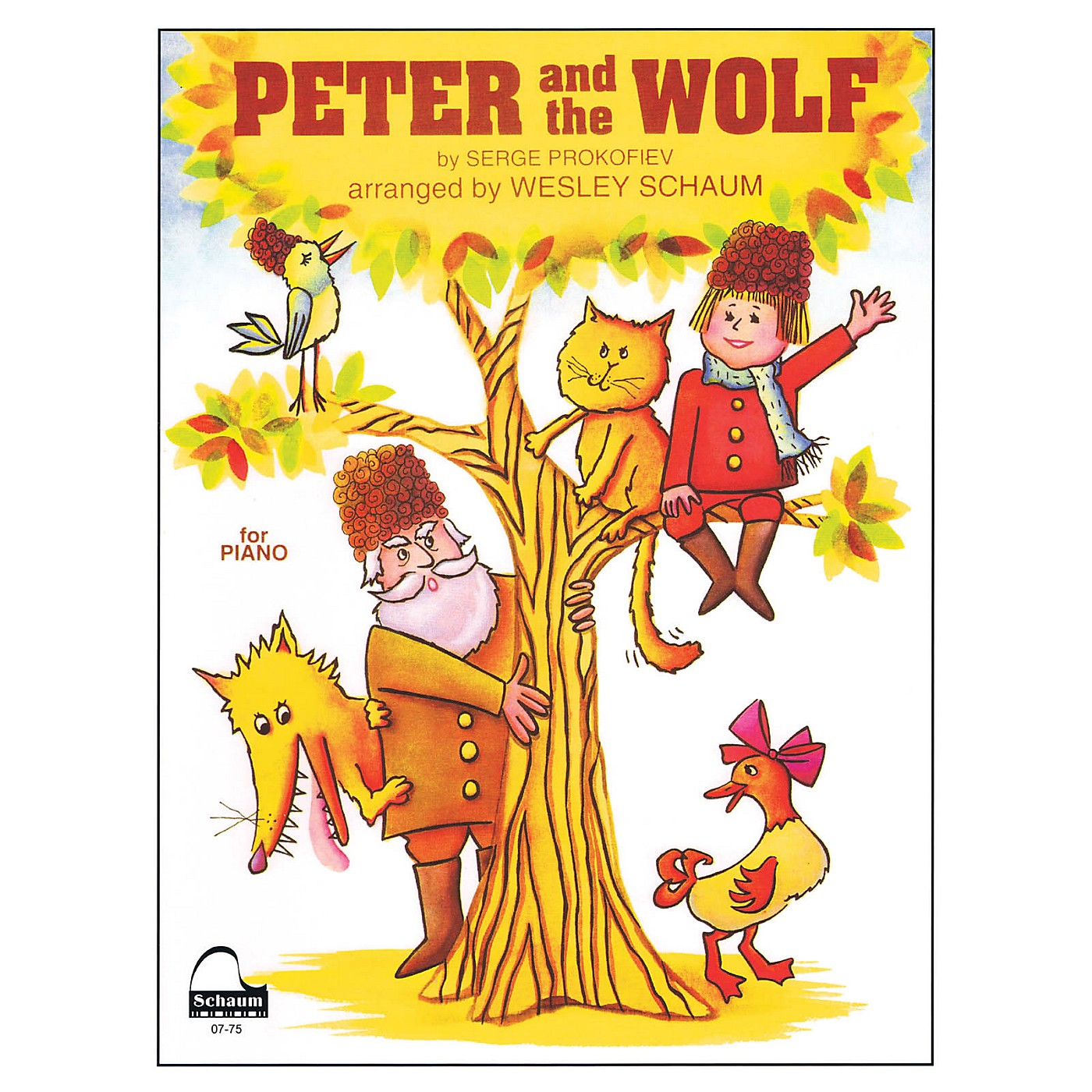 SCHAUM Peter and the Wolf Educational Piano Series Softcover thumbnail
