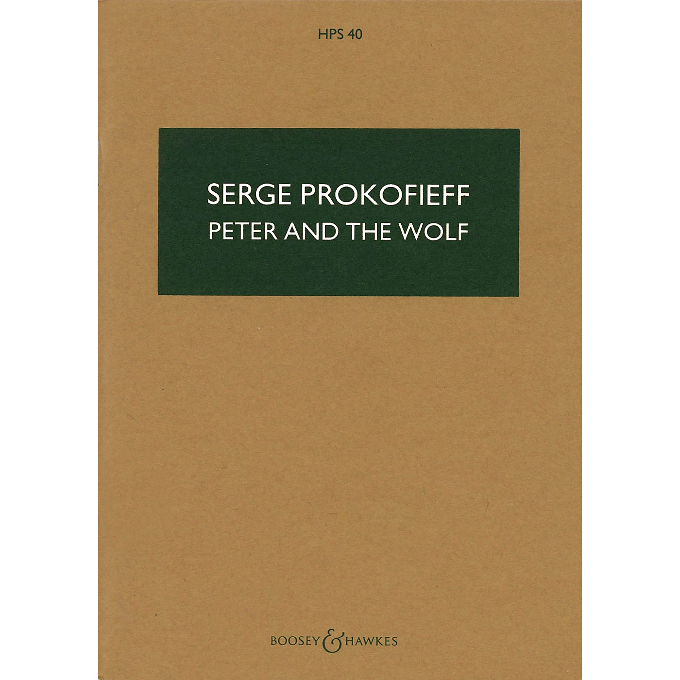 Boosey and Hawkes Peter and the Wolf, Op. 67 (Study Score) Study Score Series Composed by Sergei Prokofiev thumbnail