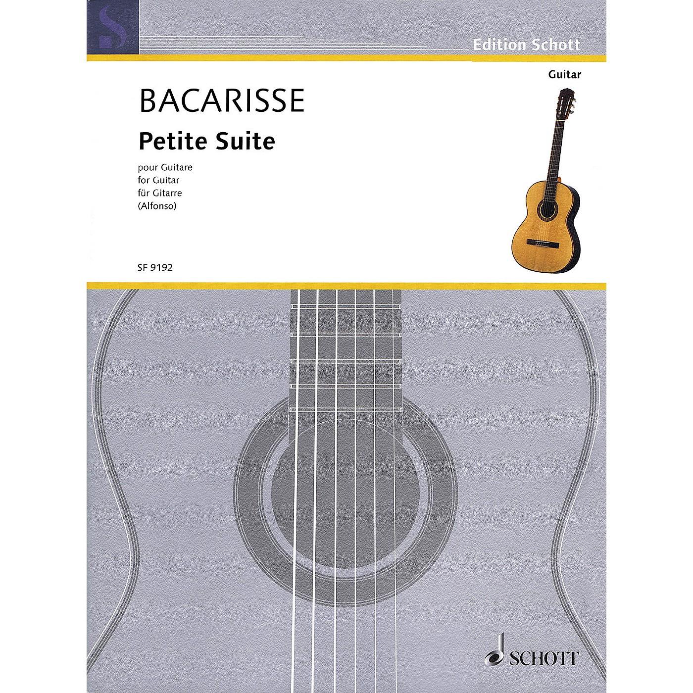 Schott Petite Suite (Guitar) Guitar Series Softcover thumbnail