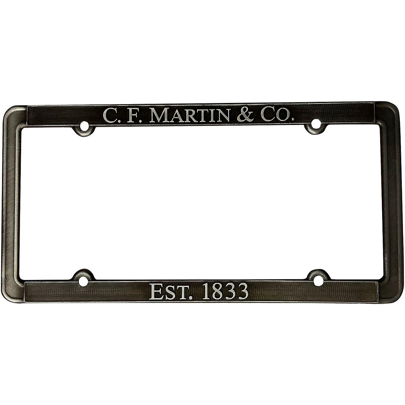 Martin Pewter License Plate Frame thumbnail