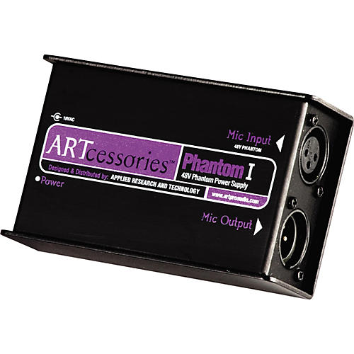 ART Phantom I Studio Mic Power Supply thumbnail