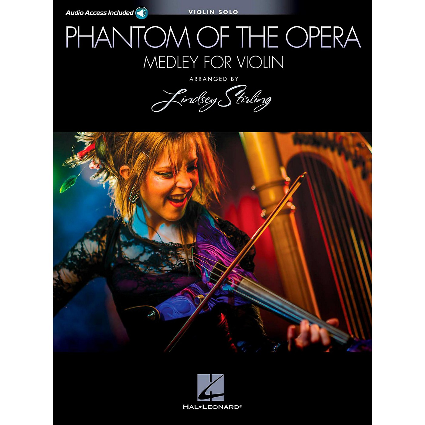 Hal Leonard Phantom Of The Opera: Lindsey Sterling Medley Book/Online Audio thumbnail