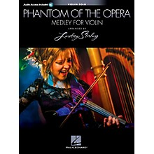 Hal Leonard Phantom Of The Opera: Lindsey Sterling Medley Book/Online Audio
