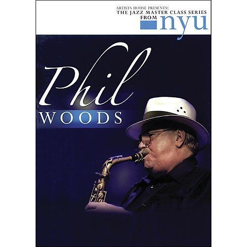 Hal Leonard Phil Woods - The Jazz Master Class Series From NYU (DVD) thumbnail