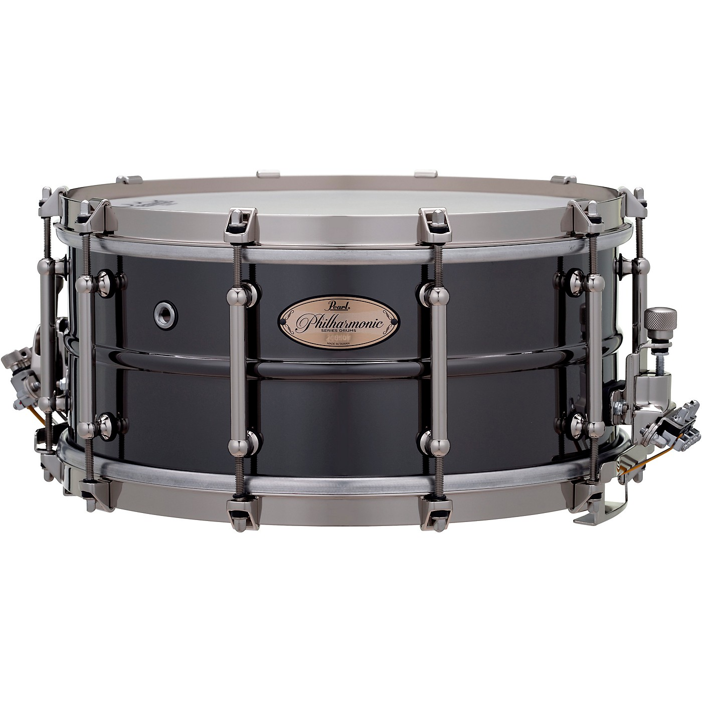 Pearl Philharmonic Brass Snare Drum thumbnail