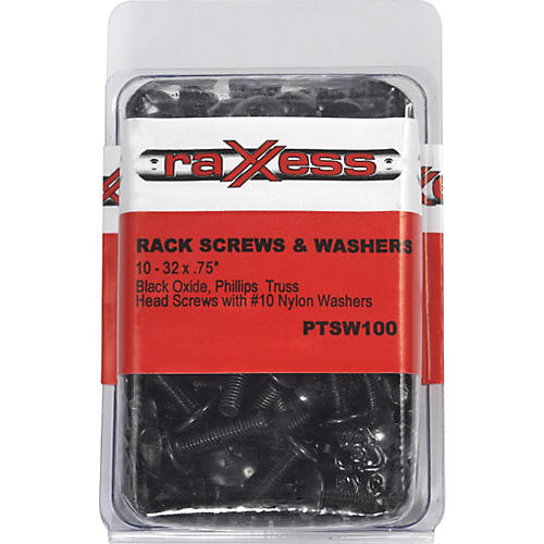 Raxxess Phillips Head Rack Screws with Washers thumbnail