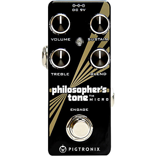 Pigtronix Philosopher's Tone Micro Compressor Effects Pedal thumbnail
