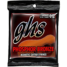 GHS Phosphor Bronze Acoustic Guitar Strings Light