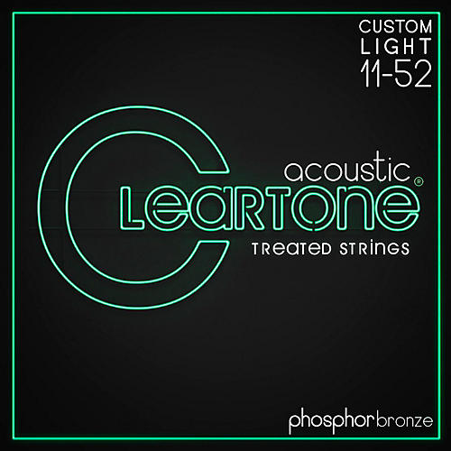 Cleartone Phosphor-Bronze Extra Light Acoustic Guitar Strings-thumbnail
