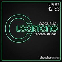 Cleartone Phosphor-Bronze Light Acoustic Guitar Strings