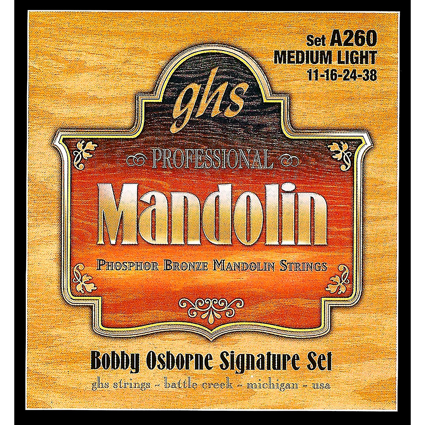 GHS Phosphor Bronze Mandolin Strings Medium Light thumbnail
