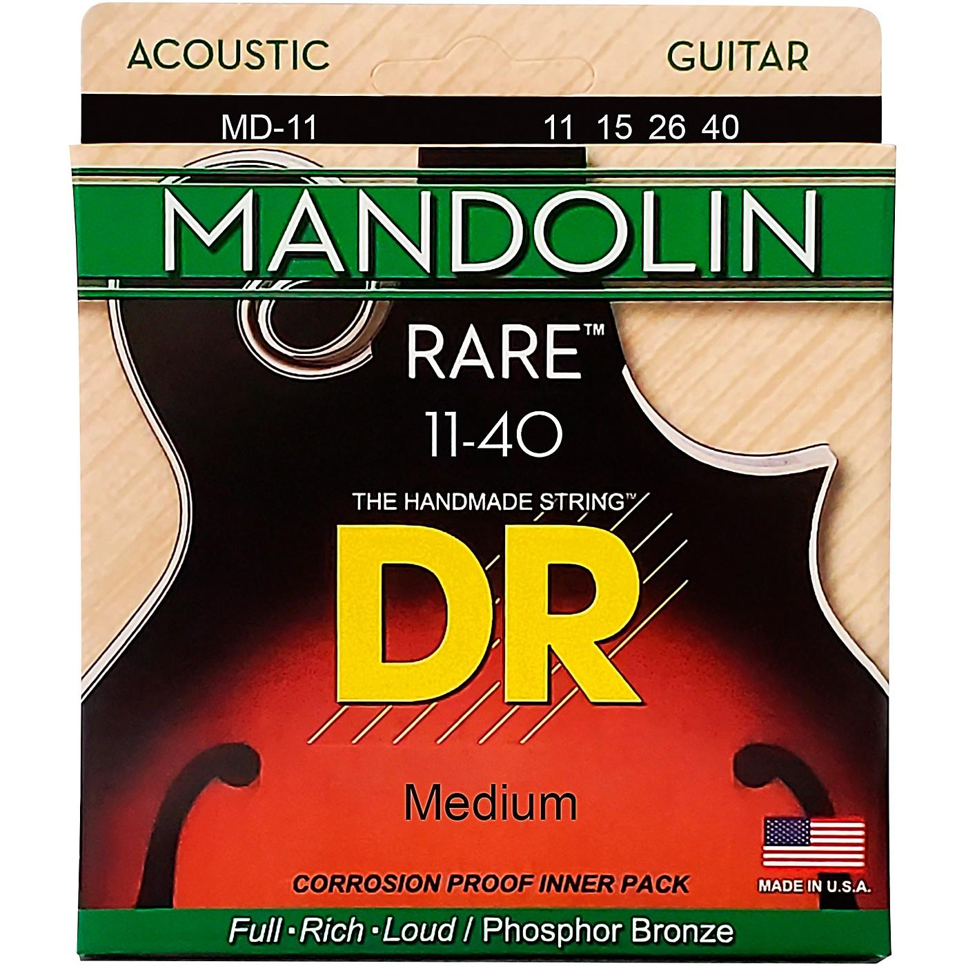 DR Strings Phosphor Bronze Medium Mandolin Strings thumbnail