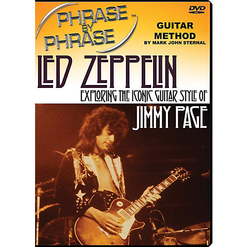 MJS Music Publications Phrase By Phrase Guitar Method - Led Zeppelin: Exploring The Iconic Guitar Style Of Jimmy Page thumbnail