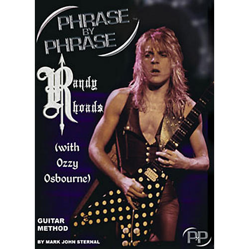 MJS Music Publications Phrase By Phrase Guitar Method - Randy Rhoads (with Ozzy Osbourne) thumbnail
