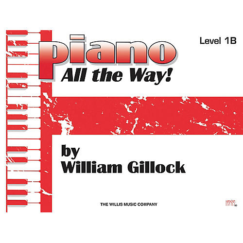 Willis Music Piano - All the Way! Level 1B Willis Series by William Gillock (Level Elem) thumbnail