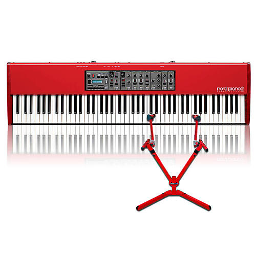 Nord Piano 2 HA88 with Matching 2-Tier Keyboard Stand thumbnail