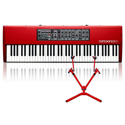 Nord Piano 2 HP73 with Matching 2-Tier Keyboard Stand thumbnail