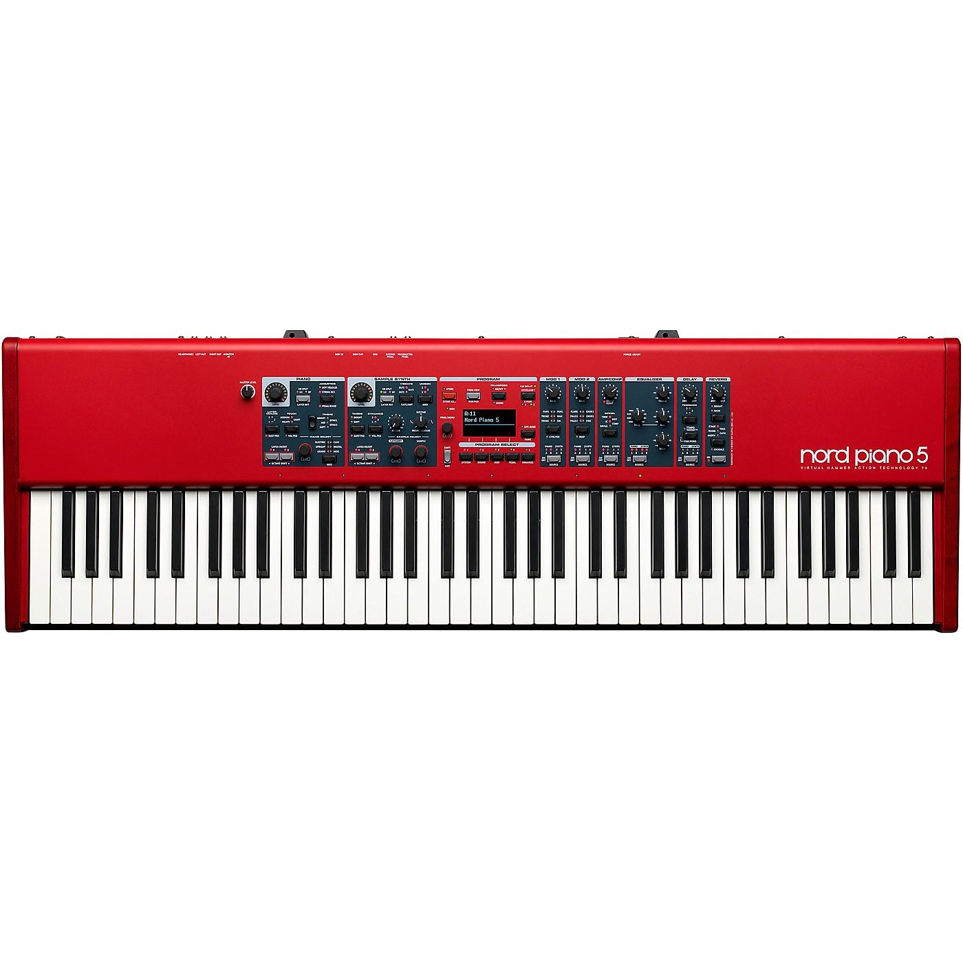 Nord Piano 5 73-Key Stage Keyboard thumbnail
