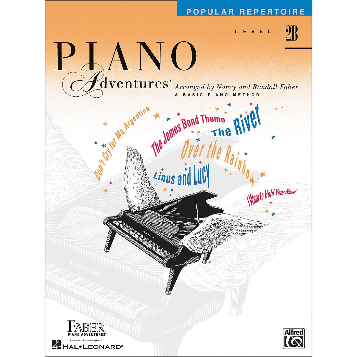 Faber Piano Adventures Piano Adventures - Popular Repertoire Level 2B - Faber Piano thumbnail