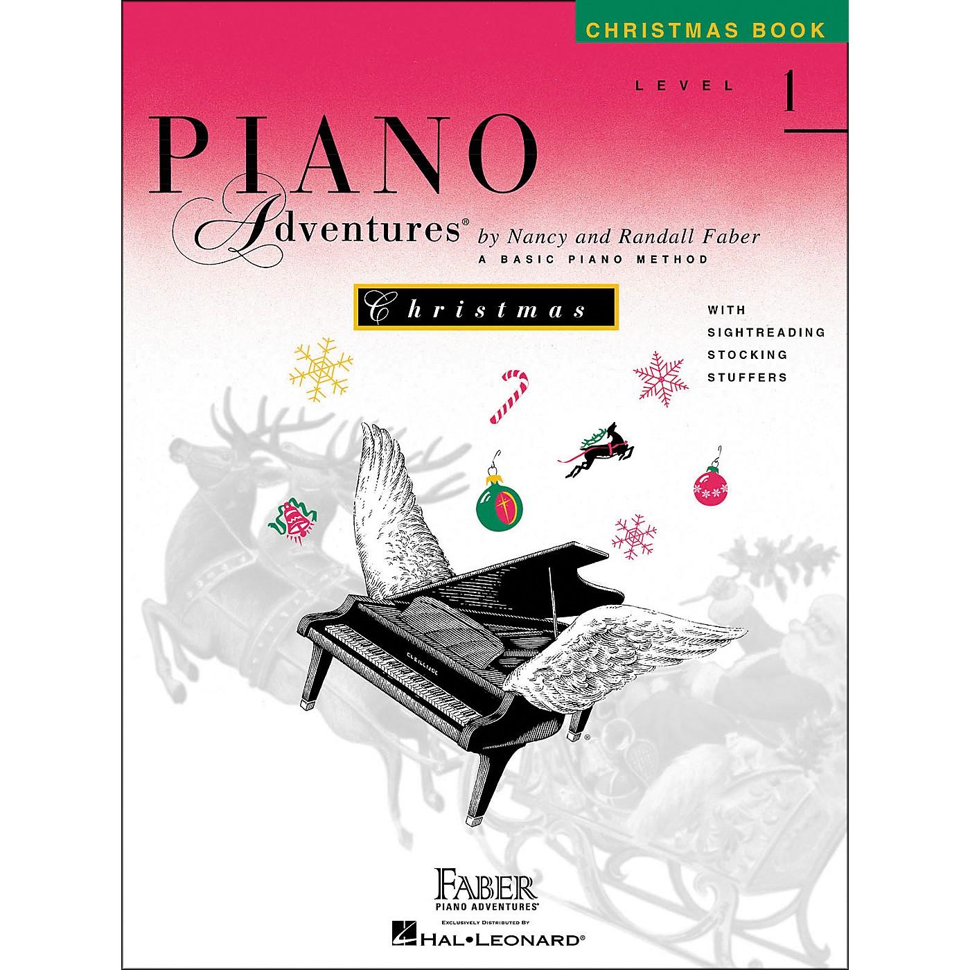 Faber Piano Adventures Piano Adventures Christmas Book Level 1 - Faber Piano thumbnail