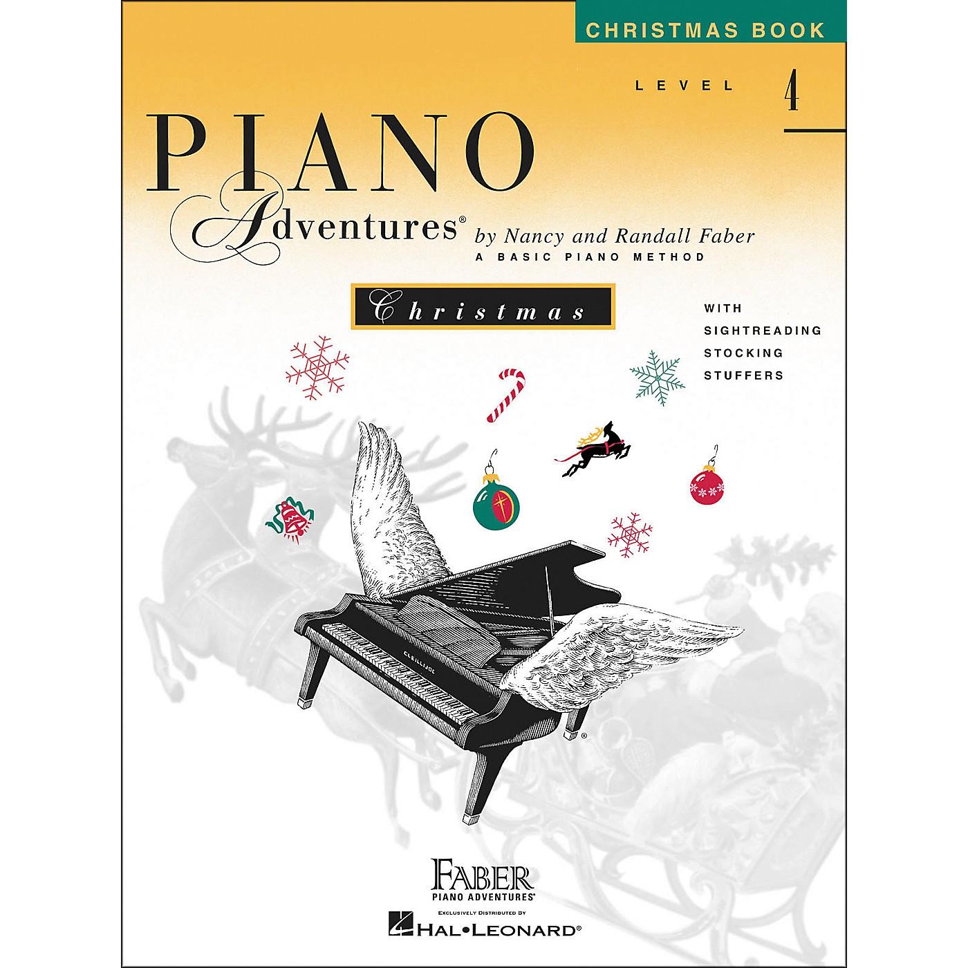 Faber Piano Adventures Piano Adventures Christmas Book Level 4 - Faber Piano thumbnail