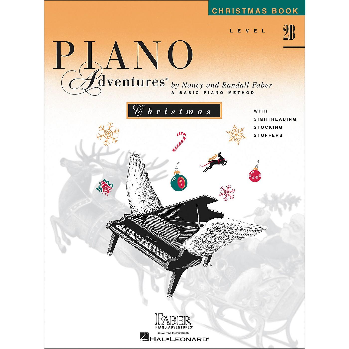 Faber Piano Adventures Piano Adventures Christmas Level 2B - Faber Piano thumbnail