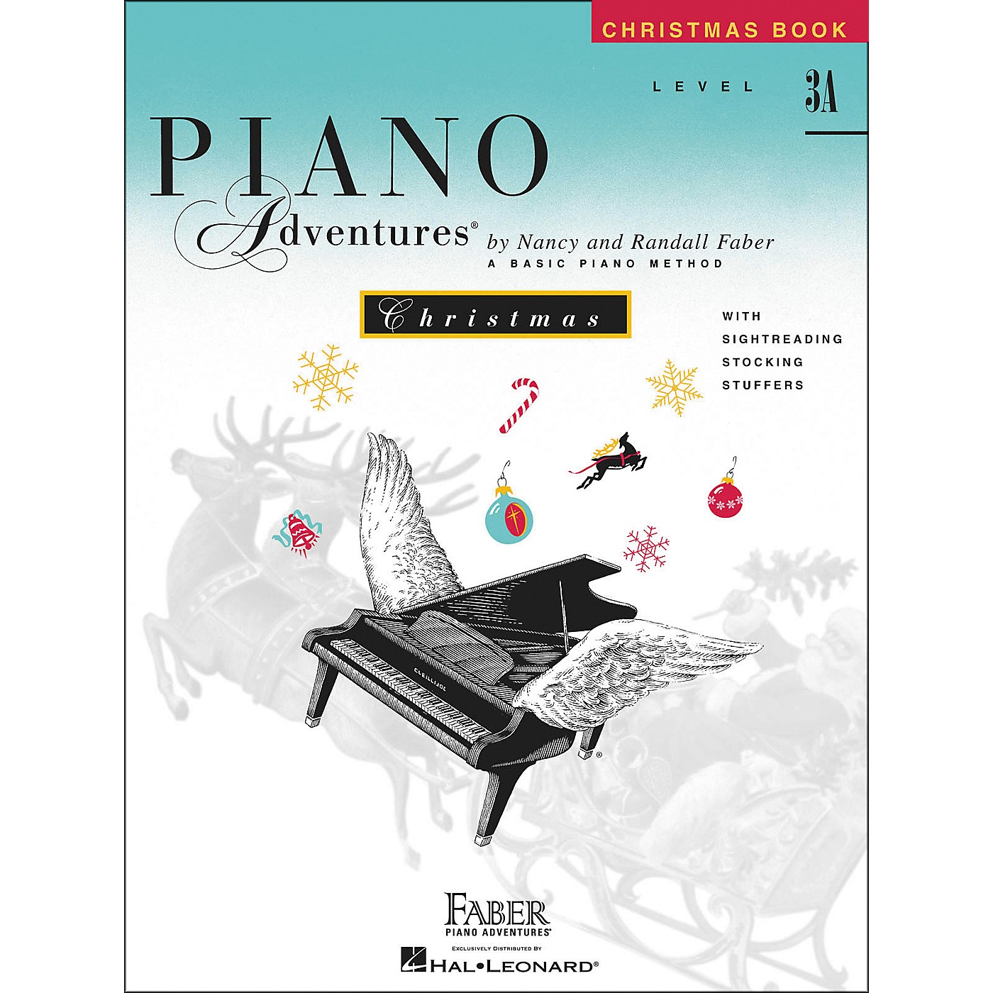 Faber Piano Adventures Piano Adventures Christmas Level 3A - Faber Piano thumbnail